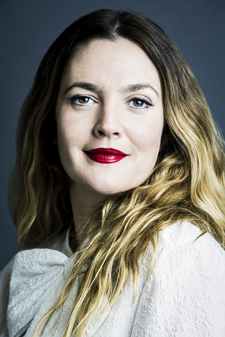 Drew Barrymore Portrait Session